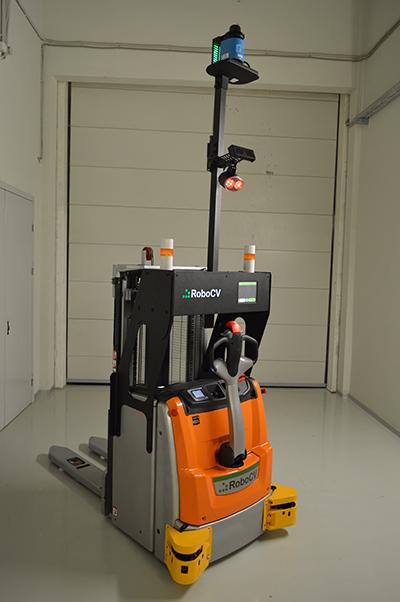 Робот-штабелёр общий вид