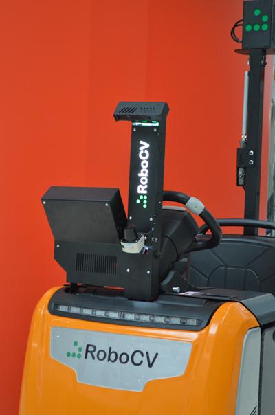 Робот-тягач RoboCV крупный план