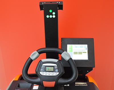 Робот-тягач RoboCV панель управления